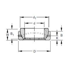 Timken 20SBT32 plain bearings