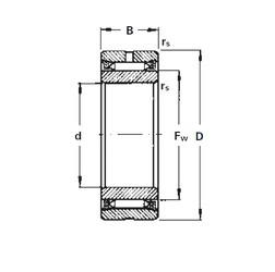 Timken NA2140 needle roller bearings