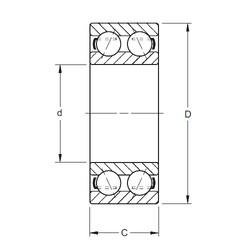 Timken 5217 angular contact ball bearings