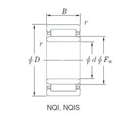KOYO NQI35/20 needle roller bearings