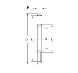 KOYO TP7095 needle roller bearings