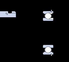 SKF 307 NR deep groove ball bearings
