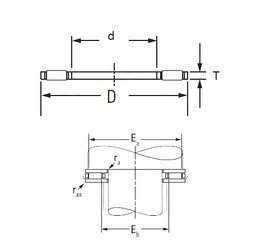 KOYO AXK7095 needle roller bearings