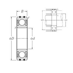 NTN AC-6003LLB deep groove ball bearings