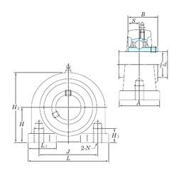 KOYO UCPA209-26 bearing units