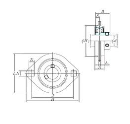 KOYO SBPFL205-15 bearing units