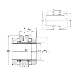 NTN ARN2572 complex bearings