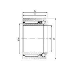 ISO NKIB 5904 complex bearings