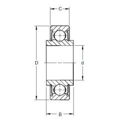 Timken 202NPP11 deep groove ball bearings