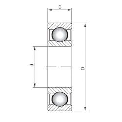 ISO 16015 deep groove ball bearings
