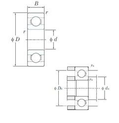 KOYO 695 deep groove ball bearings