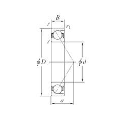 KOYO 7234B angular contact ball bearings