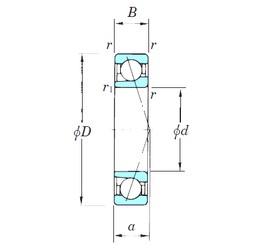 KOYO 7238CPA angular contact ball bearings