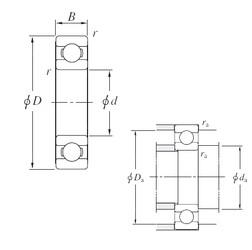 KOYO SB4833 deep groove ball bearings
