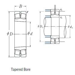 NSK 22215EAKE4 spherical roller bearings