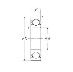 NSK 6910L11-H-20ZZ deep groove ball bearings