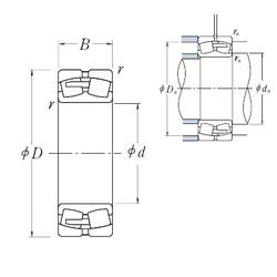 NSK 230/1000CAE4 spherical roller bearings