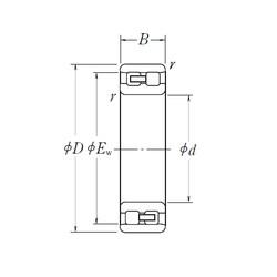 NSK NN 3013 cylindrical roller bearings