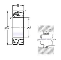 NSK TL23138CAE4 spherical roller bearings
