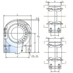 NSK 130PCR2603 cylindrical roller bearings