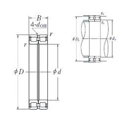 NSK RS-4926E4 cylindrical roller bearings