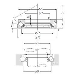 NTN 29372 thrust roller bearings