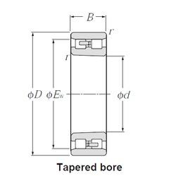 NTN NN4952K cylindrical roller bearings