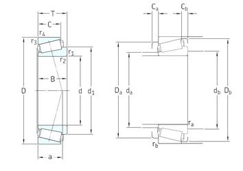 SKF 33020/Q tapered roller bearings
