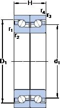 SKF BTM 170 AM/P4CDB thrust ball bearings