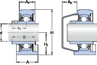 SKF SYFWK 40 LTA bearing units