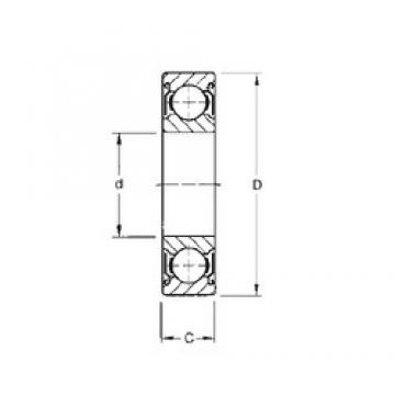 Timken 303KDD deep groove ball bearings