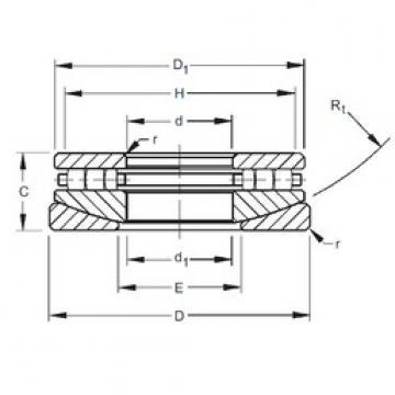 Timken 50TPS122 thrust roller bearings