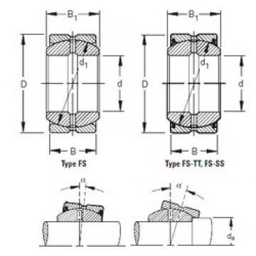Timken 260FS370 plain bearings