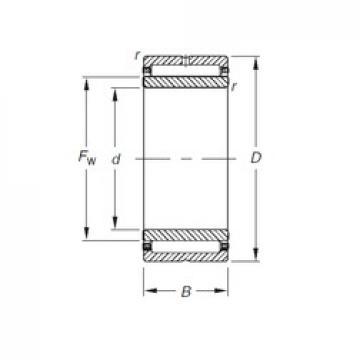 Timken NKJ22/20 needle roller bearings