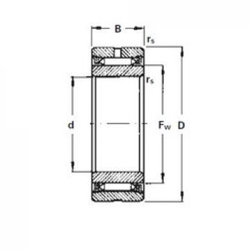 Timken NA2115 needle roller bearings
