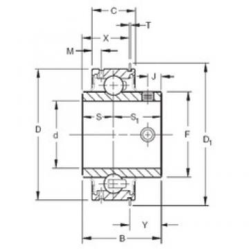Timken ER18 deep groove ball bearings