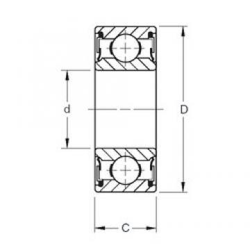 Timken 211NPP deep groove ball bearings
