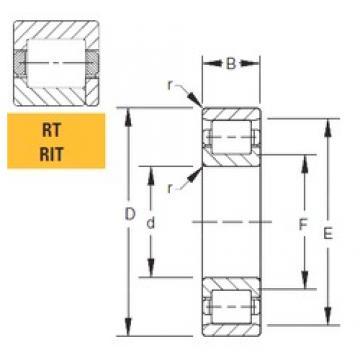 Timken 125RIT551 cylindrical roller bearings