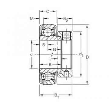 Timken GRA109RRB deep groove ball bearings