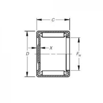 Timken M-2481 needle roller bearings