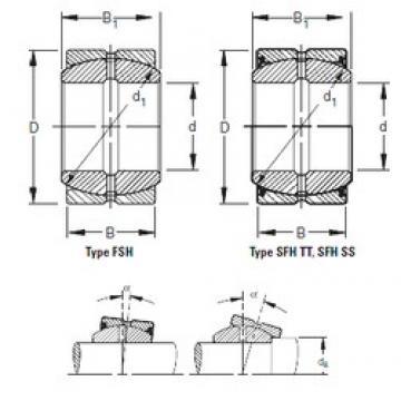 Timken 140FSH230 plain bearings