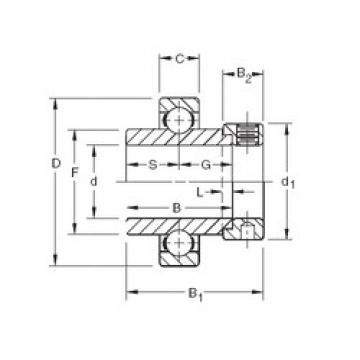Timken SM1115K deep groove ball bearings