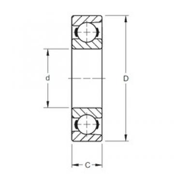 Timken 100BIH439 deep groove ball bearings