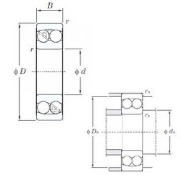 KOYO 2307 self aligning ball bearings