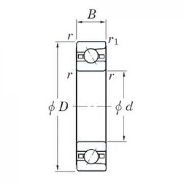 KOYO 3NC HAR921C FT angular contact ball bearings