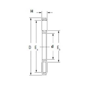 KOYO TP2542 needle roller bearings