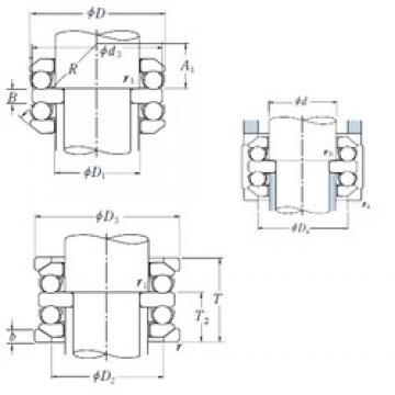 NSK 54224U thrust ball bearings