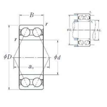 NSK 5311 angular contact ball bearings