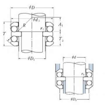 NSK 54202 thrust ball bearings