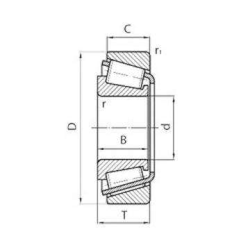 Timken NP697931/NP241715 tapered roller bearings